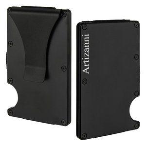 Slim RFID Blocking Minimalist Aluminum Metal Walle
